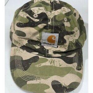 Carhartt youth hunting camo Velcro hat